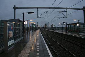 Almere Poort railway station - Image: Station Almere Poort
