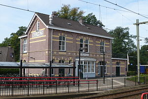Wolfheze - Train Station Wolfheze on the Utrecht-Arnhem line.