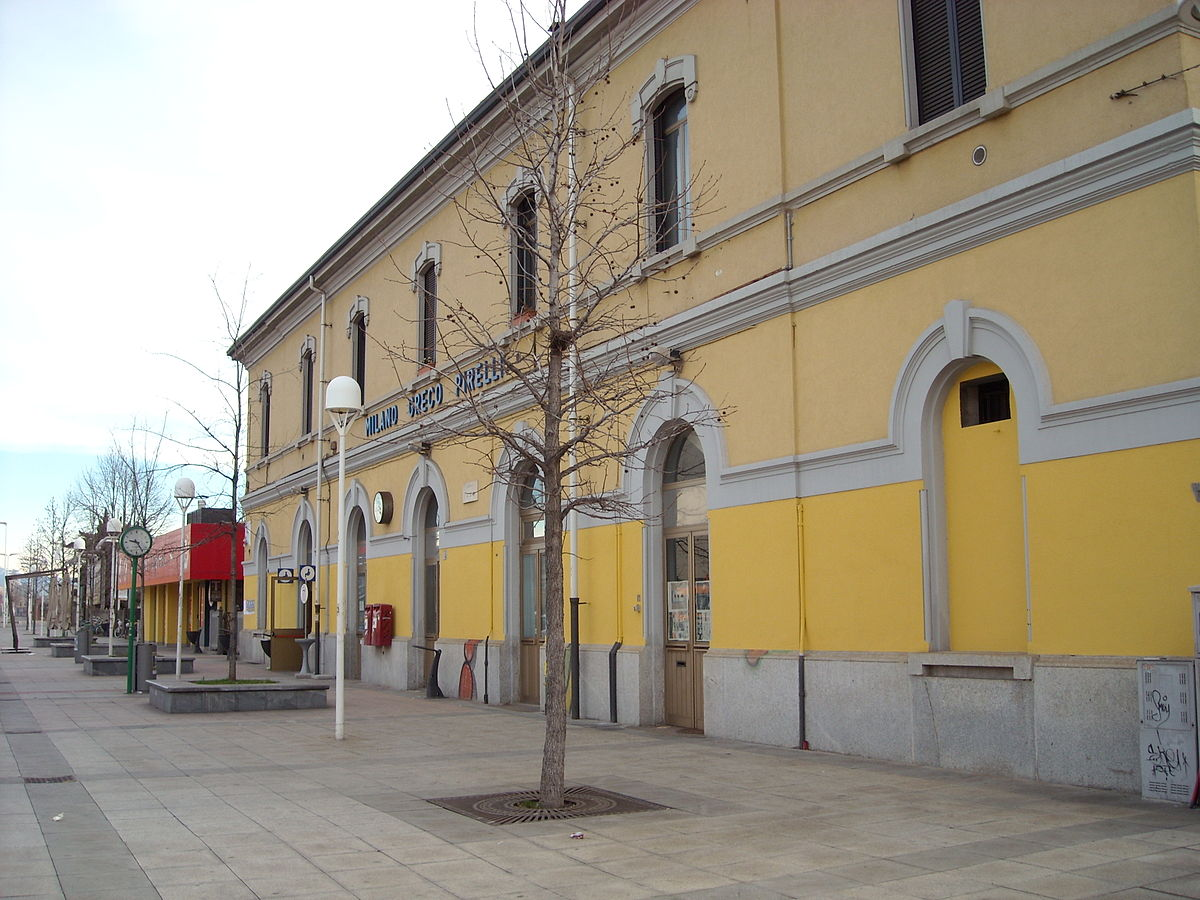 Milano greco pirelli railway station wikidata - Milano porta garibaldi station ...