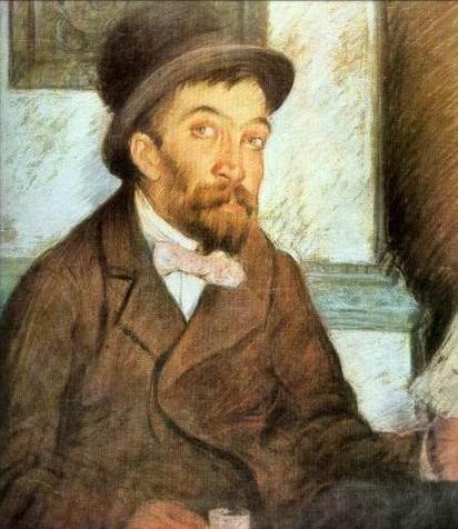 Stefan Luchian - Alecu literatu