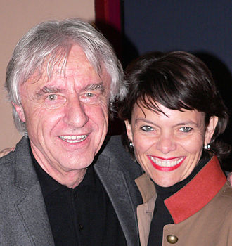 Emil Steinberger (actor) - Emil Steinberger with wife Niccel October 2007