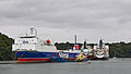 Stena Scotia and other ships moored in Carrick Roads-8763.jpg