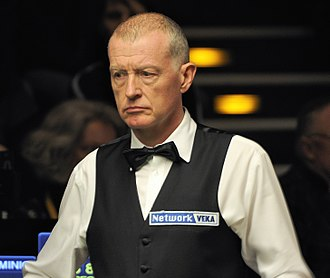 Steve Davis - Davis at the 2014 German Masters