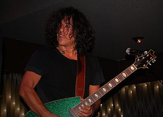 Stevie Salas Native American guitarist, author, and television host