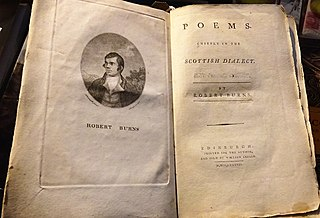 <i>Poems, Chiefly in the Scottish Dialect (Edinburgh Edition)</i> 1787 collection of poems by Robert Burns