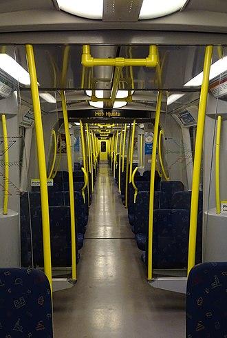 SL C20 - Image: Stockholm Metro C20 Interior