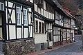Stolberg (Harz), half-timbered houses on the Hintergasse.jpg