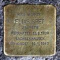 Stolperstein Heinrich-Roller-Str 22 (Prenz) Elias Spet.jpg