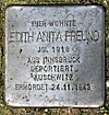 Stolperstein Knappenpfad 7 (Frohn) Edith Anita Freund.jpg