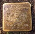 Stolperstein Marburg Richard Hartmann Bahnhofstr 3 (sk).jpg