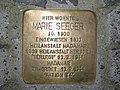 Stolperstein Marie Seeger, 1, Throner Straße 8, Bornheim, Frankfurt am Main.jpg