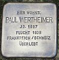 Stolperstein Paul Wertheimer Kehl.jpg