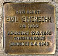 Stolperstein Templiner Str 17 (Prenz) Emil Simonsohn.jpg