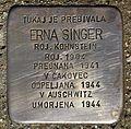 Stolperstein für Erna Singer.JPG