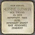 Stolperstein für Hermine Gutmann (Heidelberg).jpg
