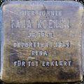 Stolpersteine Köln, Fana Koenen (Burgmauer 23).jpg