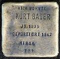 Stolpersteine Köln, Kurt Bader (Engelbertstraße 12).jpg