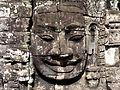 Stone face in Bayon, Angkor (7).JPG