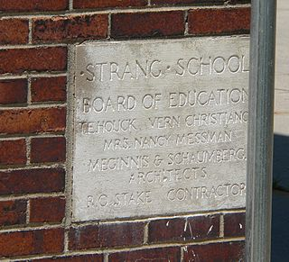 Strang School District No. 36 United States historic place