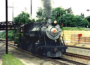 Strasburg Rail Road - SRR's former Great Western 90 2-10-0 decapod at Leaman Place