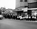 Strikers outside of Sears Roebuck and Company, March 15, 1967 (5279693434).jpg