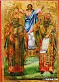 Sts Cyril and Methodius Icon by Adamche Naydov.jpg