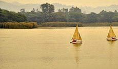 Sukhna Lake Chandigarh.JPG
