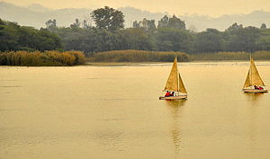 Dera Bassi - Sailing at Sukhna Lake