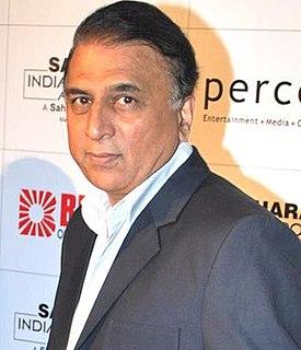 Sunil Gavaskar Indian cricketer