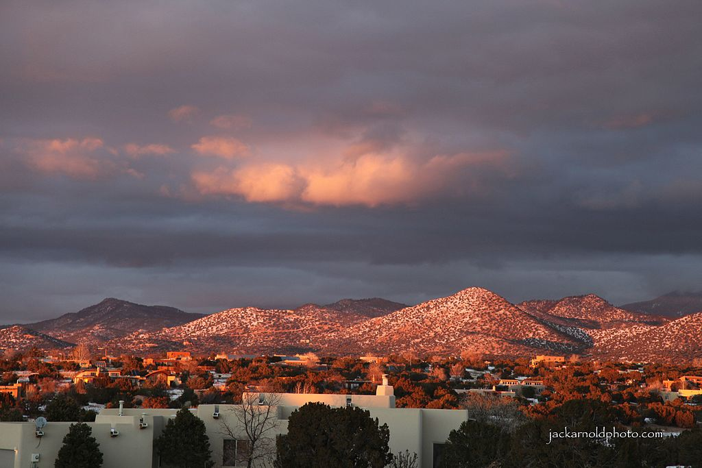 Sante Fe New Mexico >> File:Sunset, Eldorado at Santa Fe, New Mexico.jpg - Wikimedia Commons