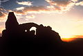 Sunset Turret Arch Arches National Park Utah USA.jpg