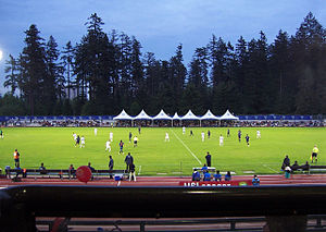 2007 FIFA U-20 World Cup - Image: Swangard stadium Burnaby