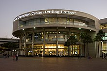 alt=Description de l'image Sydney Convention Centre at Darling Harbour.jpg.