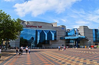 ICC Birmingham - Image: Symphony Hall and the ICC, Birmingham (geograph 4635383)