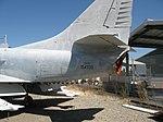 TA-4J port horizontal stabilizer, aft fuselage, fin and rudder (6096992899).jpg
