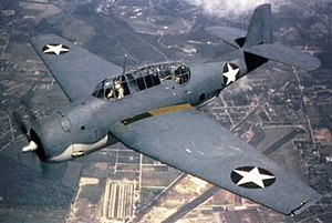 VA-22A (U.S. Navy) - A TBF Avenger, similar to the aircraft flown by VA-22A