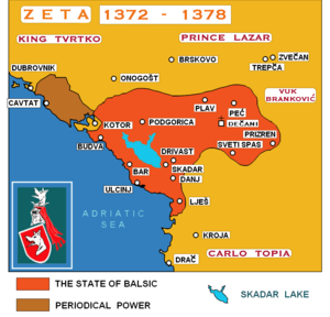 Zeta under the Balšići - The earliest State of Balsic