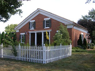 National Register of Historic Places listings in Ashland County, Ohio - Image: TJ & Sarah Bull Hse P9020202
