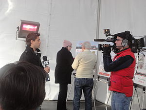 CP24 - CP24's Jamie Gutfreund reports live at TTC's new streetcar mock-up open house at TTC's Hillcrest Complex.