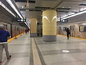 Downsview Park station - Subway platform level