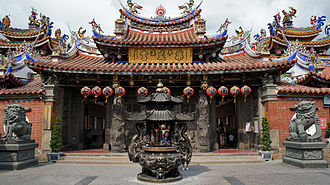 East District, Taichung - Lecheng Temple to the sea-goddess Mazu