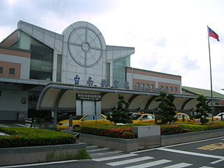 Tainan Airport Regional commercial airport and air base located in Tainan