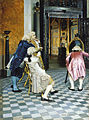 Taiteentuntijoita Louvressa.jpg