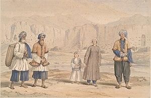 Tajiks in Bamiyan