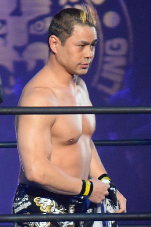 Taka Michinoku - Michinoku in February 2017