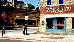 Winslow, Arizona.