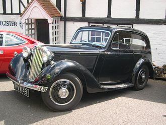 Sunbeam-Talbot Ten - 1937 Talbot Ten pillarless saloon