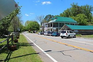 Georgia State Route 136 - SR 136 in Talking Rock