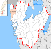 Tanum Municipality in Västra Götaland County.png