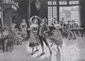 Tanzszene, auf Seide gewebt, vor 1912.png